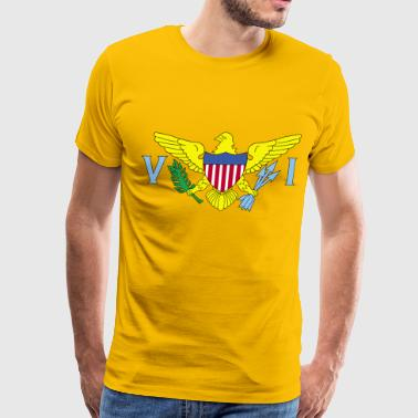 United States Us Virgin - Men's Premium T-Shirt
