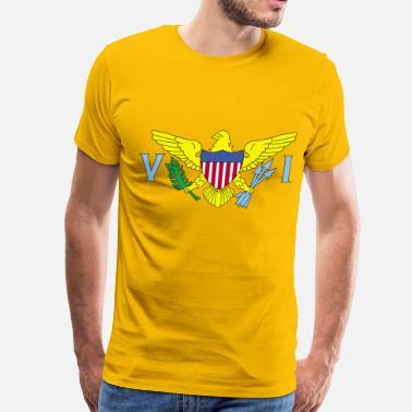 Us States United States Us Virgin - Men's Premium T-Shirt