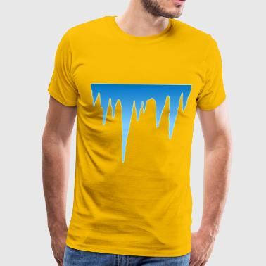 Icicle & icicles - Men's Premium T-Shirt