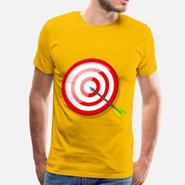 91242f689f5 Arrows Target target with arrow - Men s Premium T-Shirt
