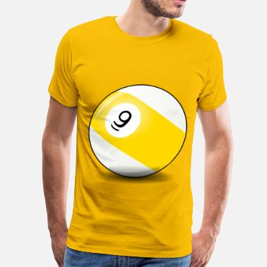 9 Ball Pool 9 ball - Men's Premium T-Shirt