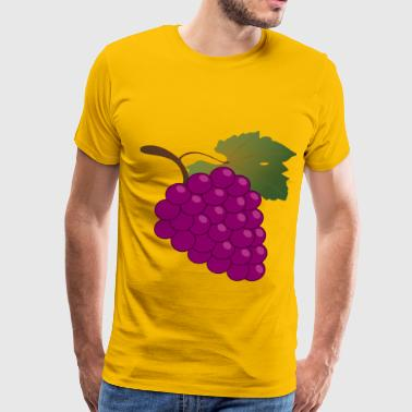 grape - Men's Premium T-Shirt