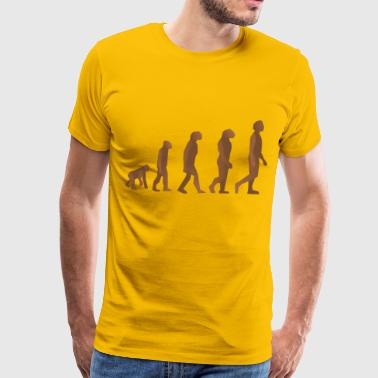 Evolution Of Man Evolution steps - Men's Premium T-Shirt