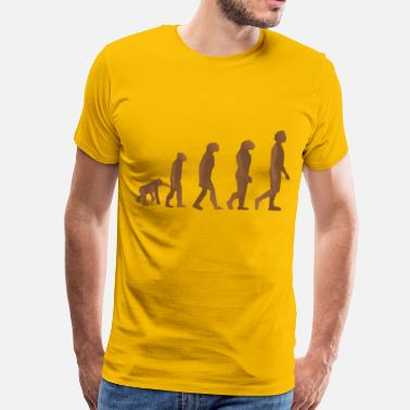 Evolution Evolution steps - Men's Premium T-Shirt