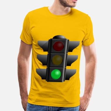 Traffic-light-green Traffic Light Green - Men's Premium T-Shirt