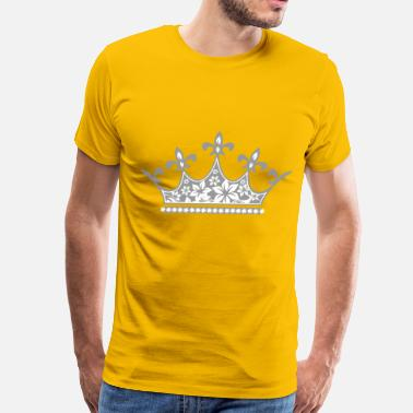 Beauty Pageant Crown - Men's Premium T-Shirt