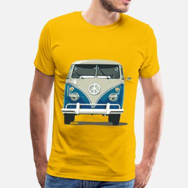 Automobile  Bus - Men's Premium T-Shirt