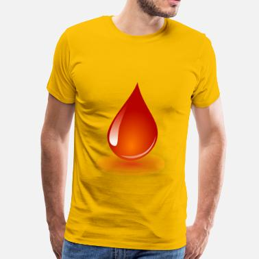 Blood Drop Blood Drop - Men's Premium T-Shirt