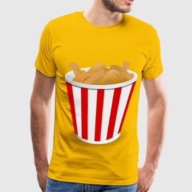 Fried Chicken Fried Chicken - Men's Premium T-Shirt