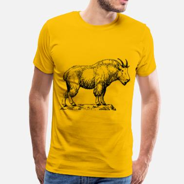 Mountain Goats mountain goat - Men's Premium T-Shirt