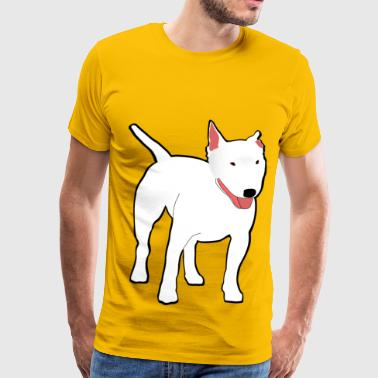 bullterrier - Men's Premium T-Shirt