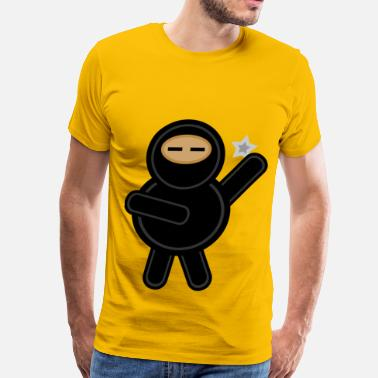 Plump Plump ninja - Men's Premium T-Shirt