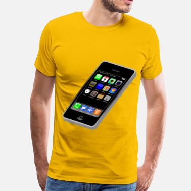 Touch Screen phone - Men's Premium T-Shirt