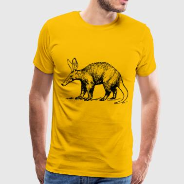 Aardvark clip art - Men's Premium T-Shirt