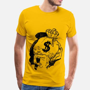 Big Money Big Bag Of Money - Men's Premium T-Shirt