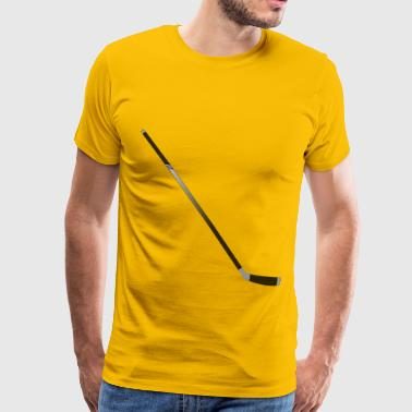Hockey Stick - Men's Premium T-Shirt