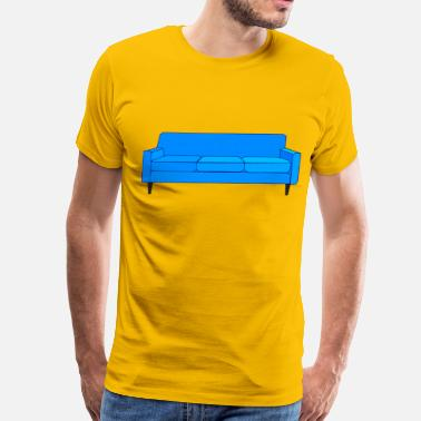 Couch couch - Men's Premium T-Shirt