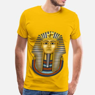 Golden King Golden Mask king tut - Men's Premium T-Shirt