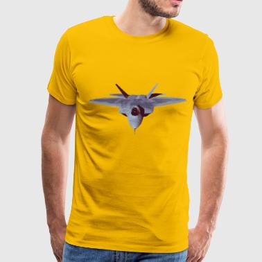 Fighter jet plane - Men's Premium T-Shirt