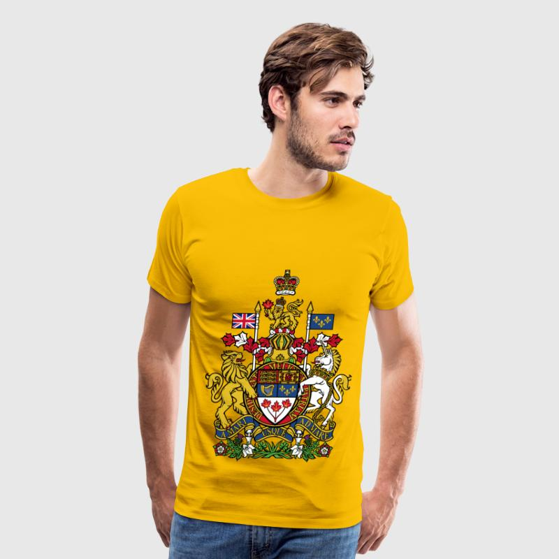 Lion Unicorn canada coat - Men's Premium T-Shirt