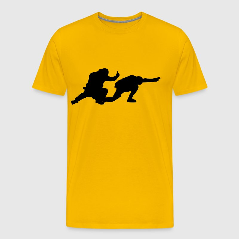 Flight deck shooters - Men's Premium T-Shirt