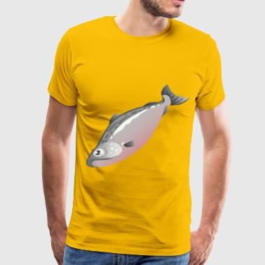 Food Salmon - Men's Premium T-Shirt
