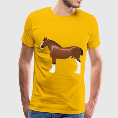 Clydesdale Horse Clydesdale Horse - Men's Premium T-Shirt