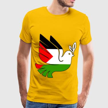 Stop the war Peace for Palestine - Men's Premium T-Shirt