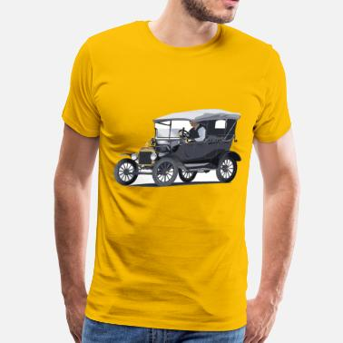 Ford F100 Model T Ford Touring - Men's Premium T-Shirt