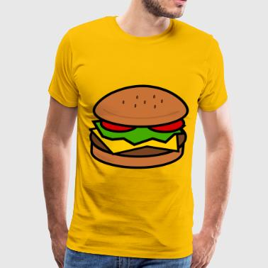 Hamburger - Men's Premium T-Shirt