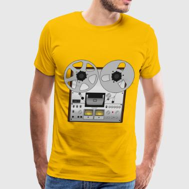 Reel to reel tape recorder - Men's Premium T-Shirt