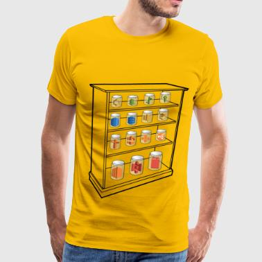 Aws AWS Services Shelf - Men's Premium T-Shirt