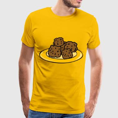 Meatballs - Men's Premium T-Shirt