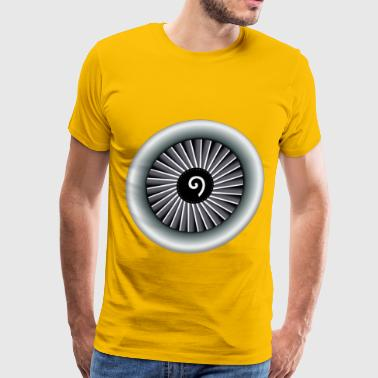 Jet Engine - Men's Premium T-Shirt