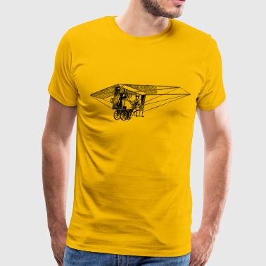 Nemethys Flying Machine - Men's Premium T-Shirt