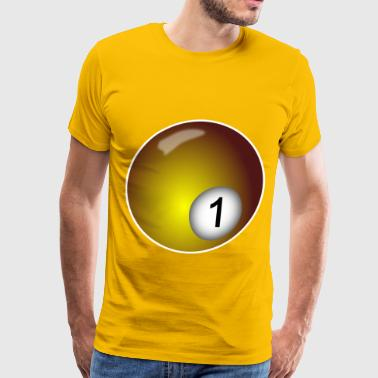 Billiard Ball - Men's Premium T-Shirt