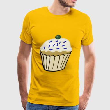 White Muffin - Men's Premium T-Shirt