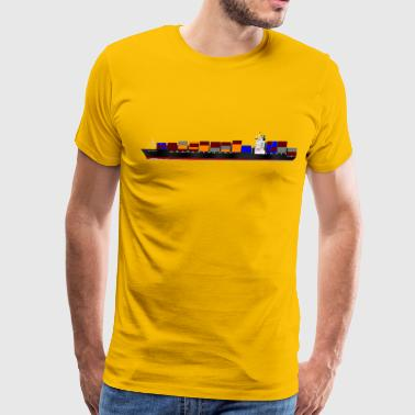 Container ship - Men's Premium T-Shirt