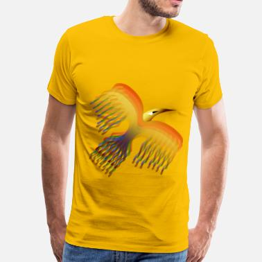 Fable Phoenix Bird 2 - Men's Premium T-Shirt