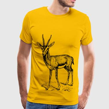 Gazelle gazelle - Men's Premium T-Shirt
