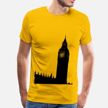 Ben Big Ben, houses of parliament - Men's Premium T-Shirt