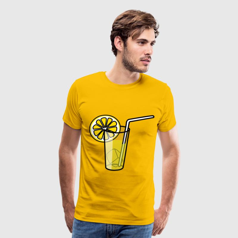 Lemonade glass - Men's Premium T-Shirt