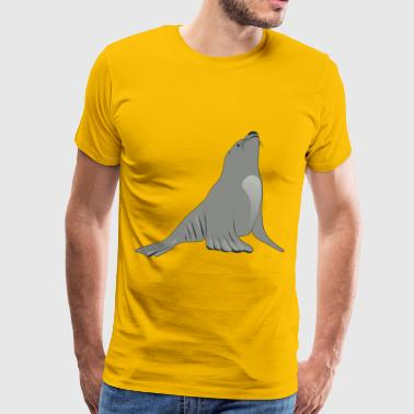 Sea Lion - Men's Premium T-Shirt