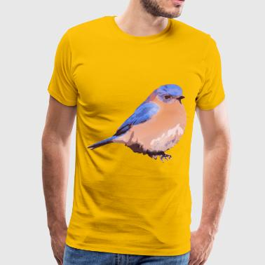 Eastern bluebird - Men's Premium T-Shirt