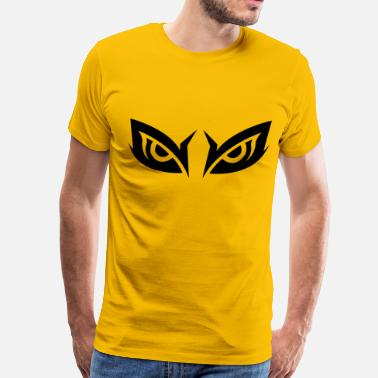 Robber Owl Eyes - Men's Premium T-Shirt
