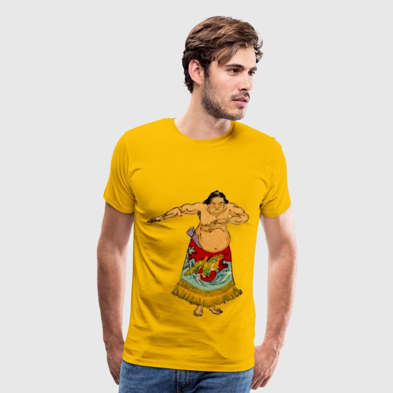 Sumo wrestler 4 - Men's Premium T-Shirt