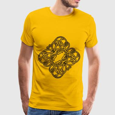 Interlocking design - Men's Premium T-Shirt