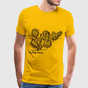 Prickly Prickly Pear Cactus - Men's Premium T-Shirt