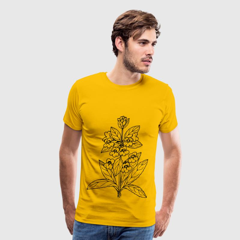 Sticky penstemon - Men's Premium T-Shirt