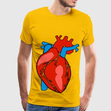 HUMAN HEART - Men's Premium T-Shirt